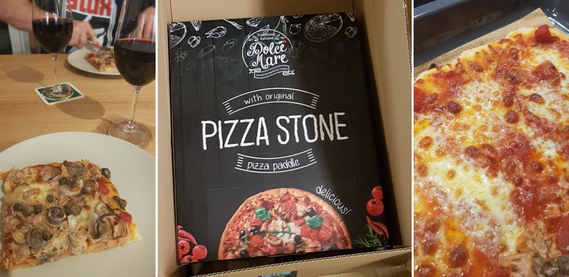 Pizzastein - Home cooking
