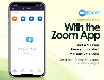 App of the week : Zoom