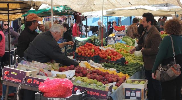 Η λίστα με τους πωλητές της λαϊκής αγοράς στο Ναύπλιο για την Τετάρτη 20 Μαϊου