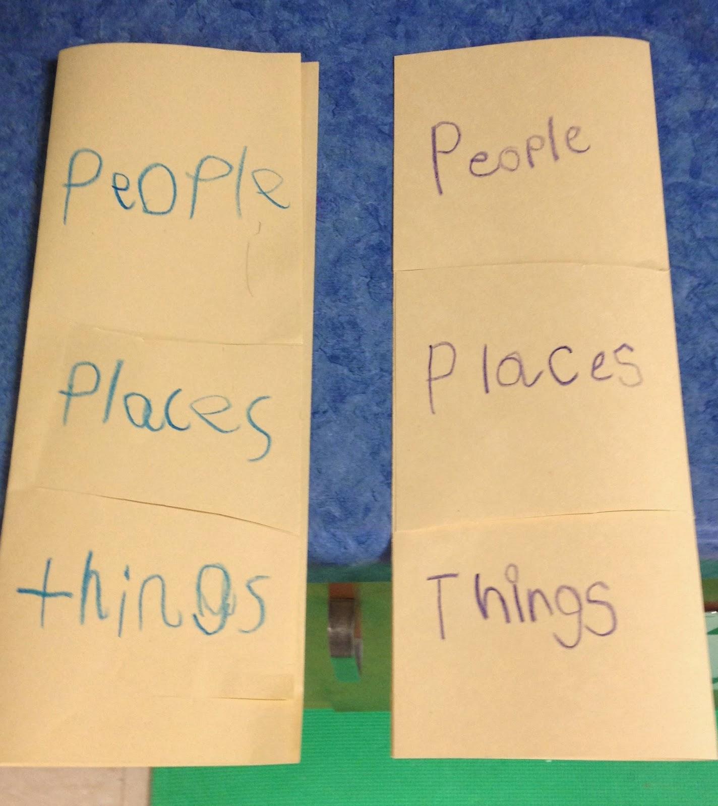 First Grade Mon Stars Nouns Nouns Nouns