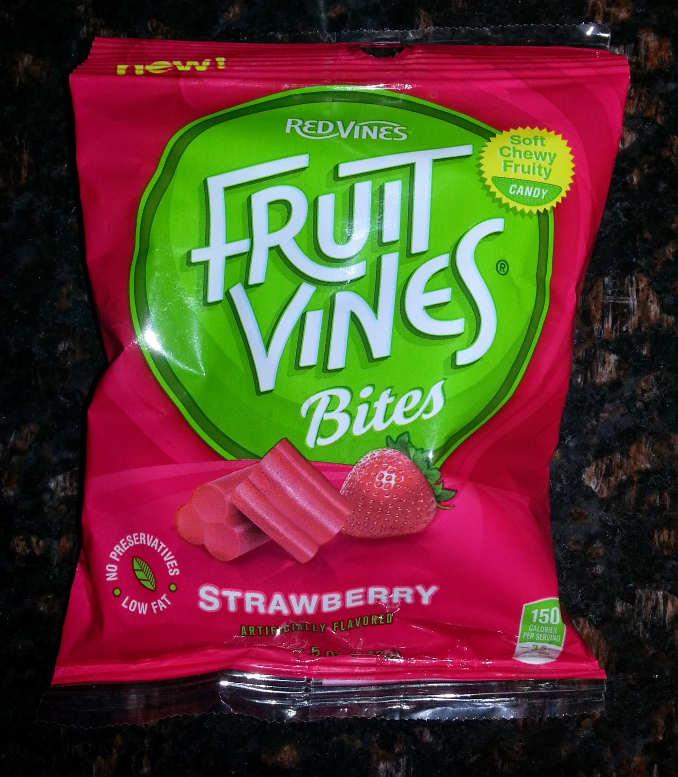 Red Vines Fruit Vines Bites in Strawberry