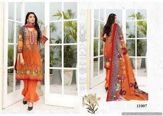 Iris vol 11 Pakistani Karachi Print Dress Material