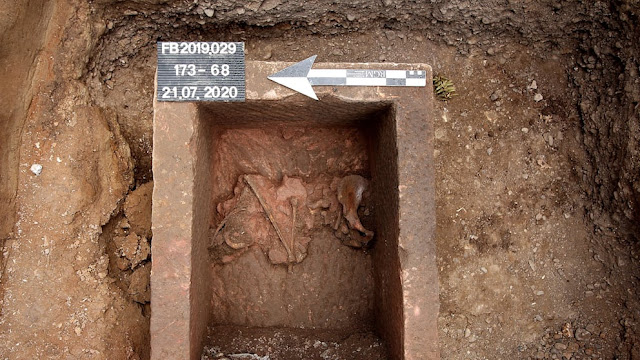 Roman sarcophagus discovered in Cologne
