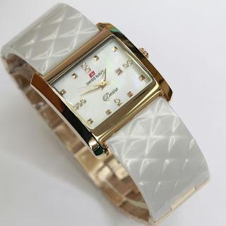 Harga jam tangan swiss Navy warna putih