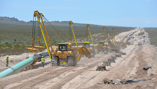 Three Pipeline Contractors offer 2,500 jobs-Permian Highway Pipeline Project.