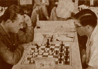 Partida de ajedrez Francisco Ballbé vs. Dieter Weise, Oberhausen-1961