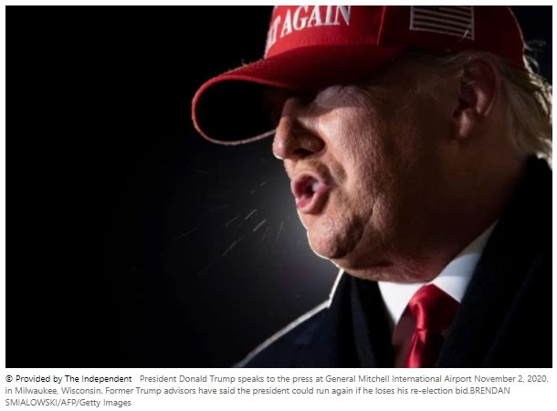 If Trump loses to Biden, can he run again in 2024?