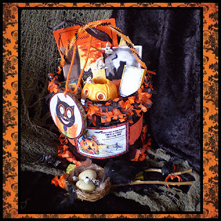 visit the halloween artist bazaar website and enter to win the special edition bucket filled with these wonderful handmade items from participating hab