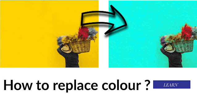 How to replace color?