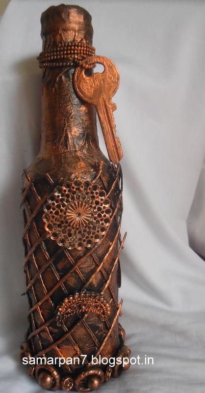 Samarpan Arts And Crafts Altered Bottle Art