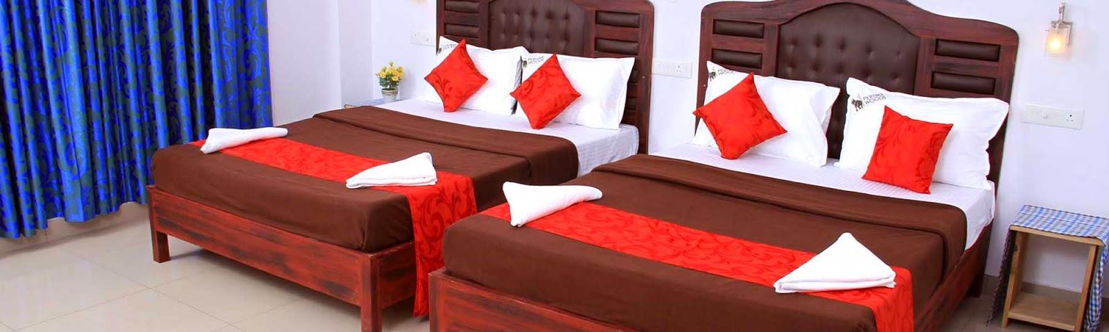 thekkady hotels rates, budget family resort in thekkady