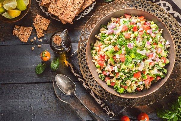 How my Egyptian salad works