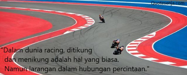 Kata-kata anak racing tentang cinta
