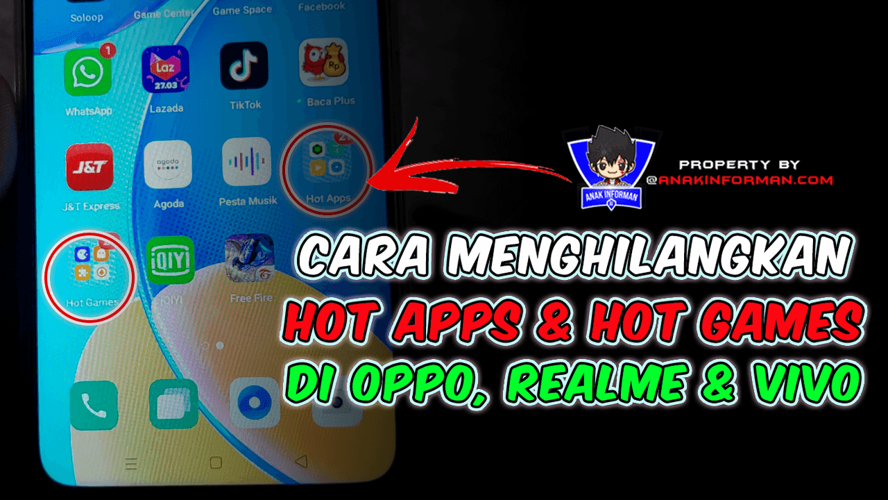 Menghapus Hot Apps & Hot Games di Oppo