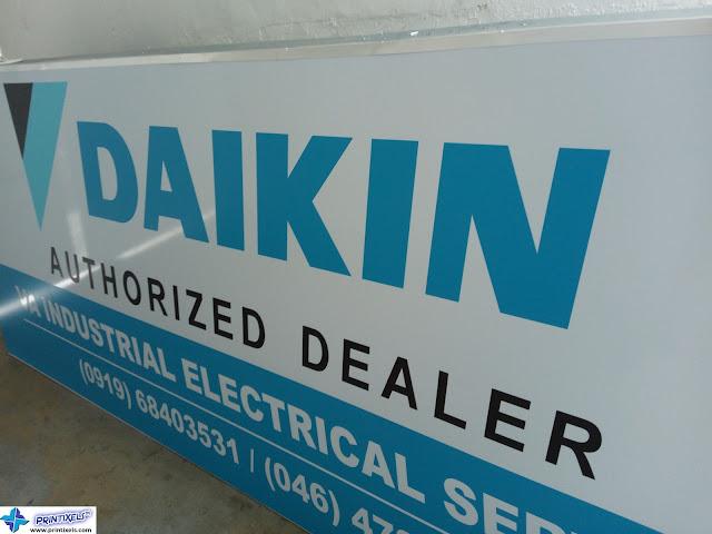 Panaflex Sign - Daikin Philippines