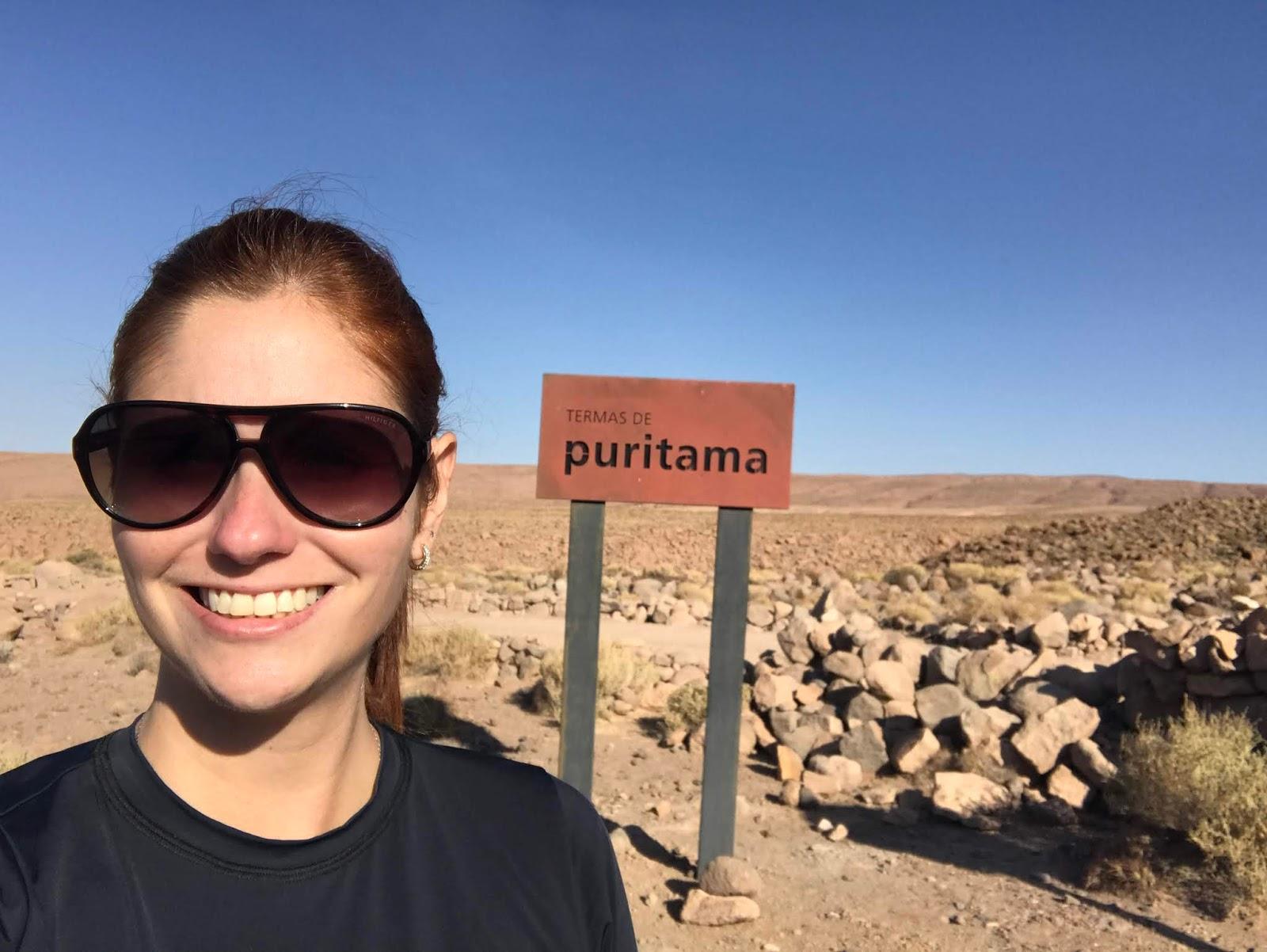 Termas de Puritama - Deserto do Atacama