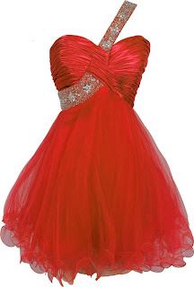 red one shoulder exciting short prom dresses 2013 - 2014 goddess prom gowns