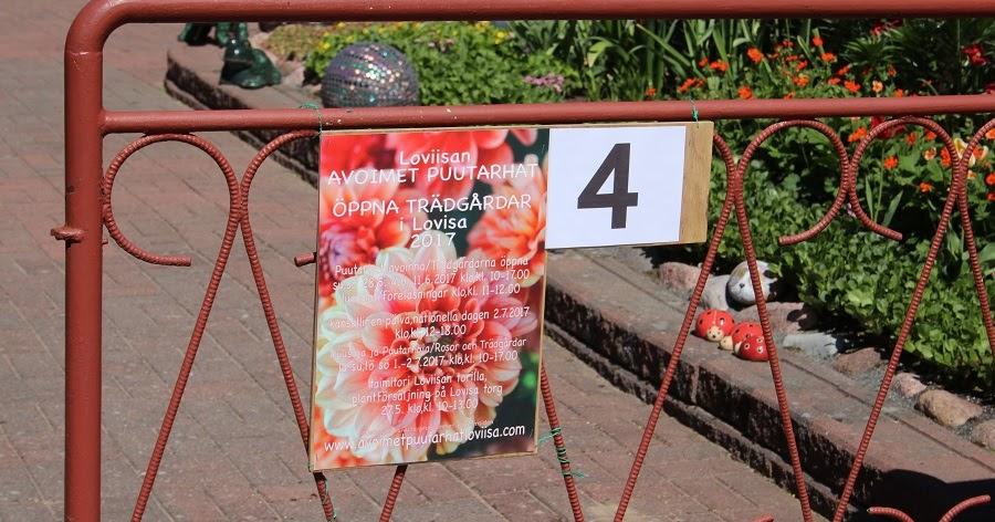Sarin puutarhat: Loviisan Avoimet Puutarhat osa 1