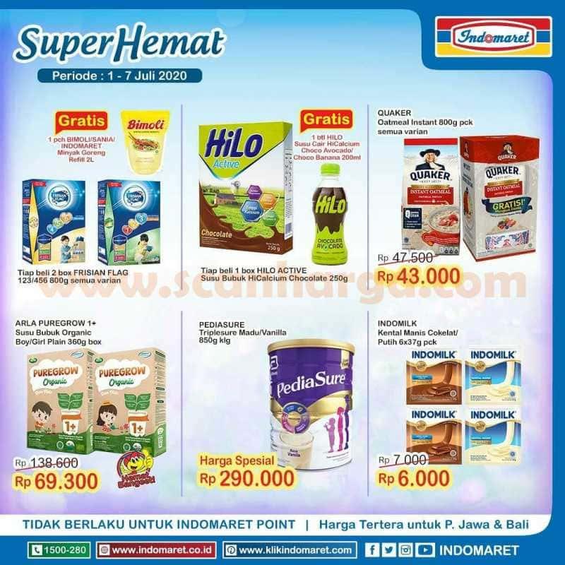 Katalog Promo Indomaret Heboh Minyak Goreng Dan Susu Murah 1 - 7 Juli 2020 4
