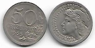 50 Cruzeiros, 1965