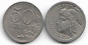 Moeda de 50 Cruzeiros, 1965