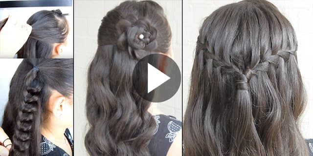 Learn - How To Create These Two Beautiful Hairstyles, See Tutorial