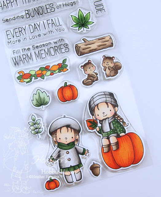 Heather's Hobbie Haven - Fall Friends Stamp Set