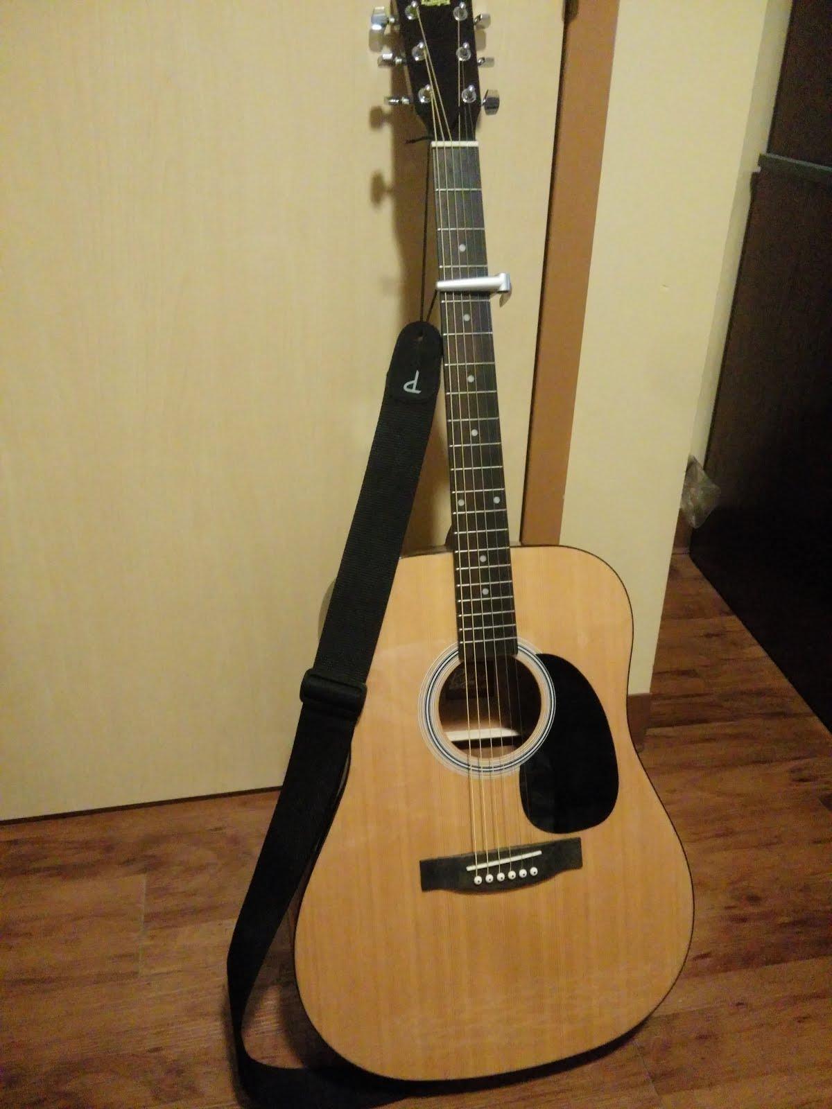 Mattwins]: Rogue RA-100D Acoustic Guitar Review