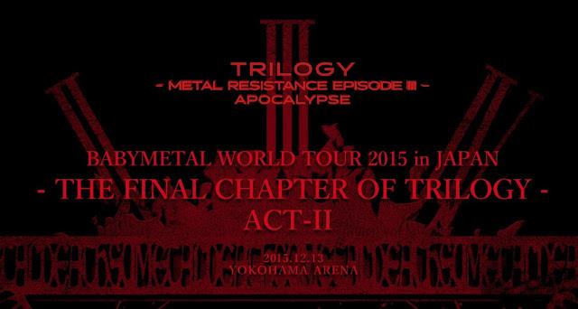 [BDRip] Babymetal – Trilogy: Metal Resistance Episode III – Apocalypse (2016.09.19)
