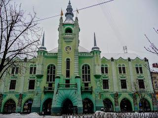 Мукачево. Ратуша. Городская администрация