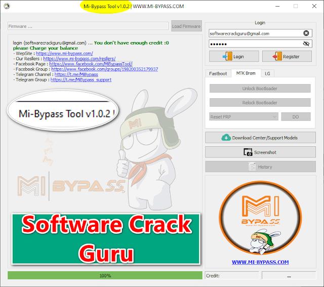 Mi Bypass Tool V1.0.2 Added New Models   MTK Brom Bypass   LG Unlock