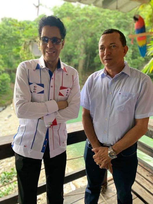 Alcalde Fridin Pena definió de muy positiva la visita del vice ministro de Cultura Bonny Cepeda al municipio de Cambita Garabitos