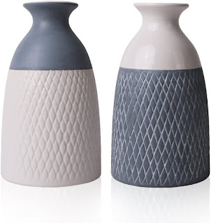 set of 2 vases amazon