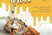 Promo Geprek Ah Sedap Beli 1 Gratis 2 Paket Geprek Leleh, Winger dan Tempe Goreng Crispy