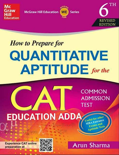 Quantitative Aptitude : for CAT Exams PDF Book