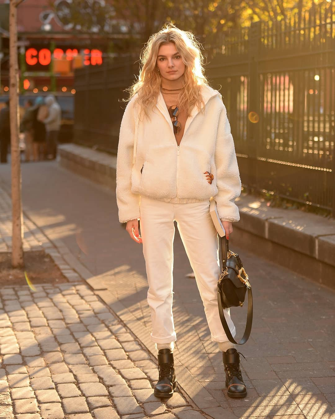 We're Obsessed With Cozy Sherpa Jackets for Winter