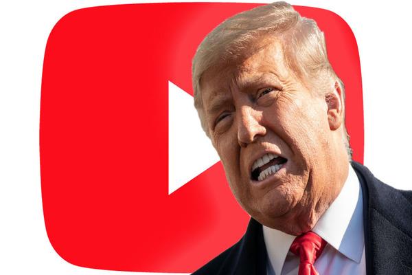 بعد تويتر و فيسبوك.. يوتيوب تحظر قناة دونالد ترامب