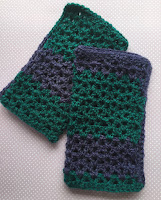 Easy Lacy Hand Warmers