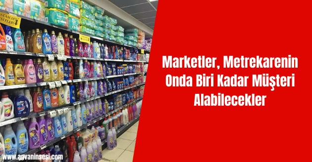 Marketler, Metrekarenin Onda Biri Kadar Müşteri Alabilecekler