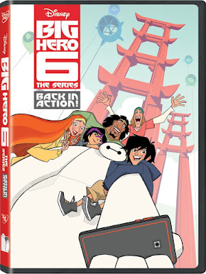 Big Hero 6: The Series - Back In Action! DVD Review