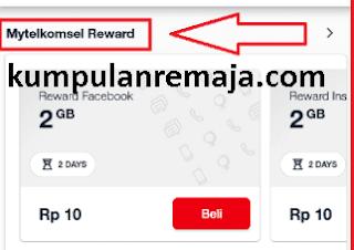 Cara Mendapatkan Paket Serba 10 di My telkomsel