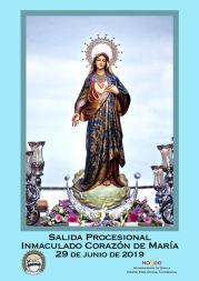 Horario e Itinerario de la Salida Procesional del Inmaculado Corazón de María del Torreblanca hoy en Sevilla