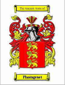 Ancient Arms Of Plantagenet