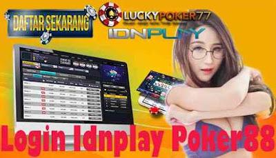 Login Idnplay Poker88