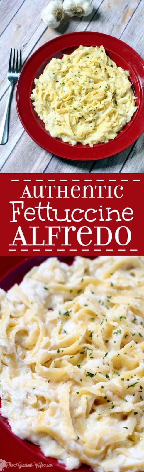 Authentic Fettuccine Alfredo