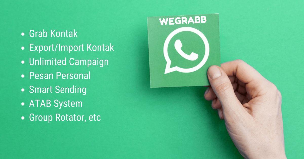 WeGrabb whatsapp bulksender