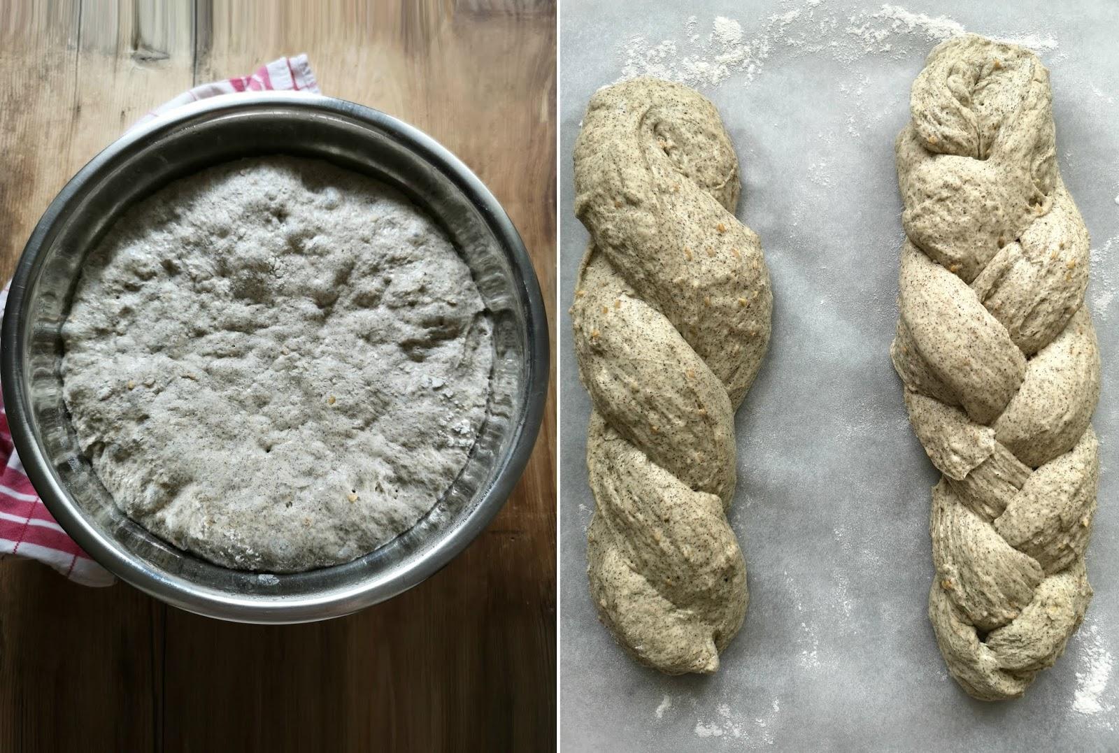 pane alla canapa e semi di lino