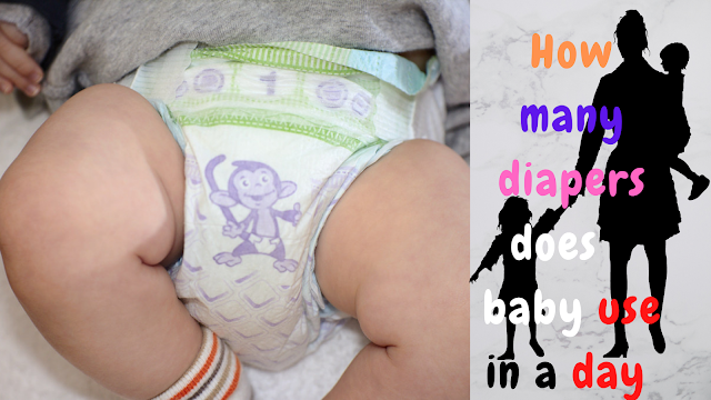 How many diapers does a baby use in a day