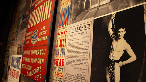Houdini in the News | Photo courtesy of the Breman Musuem