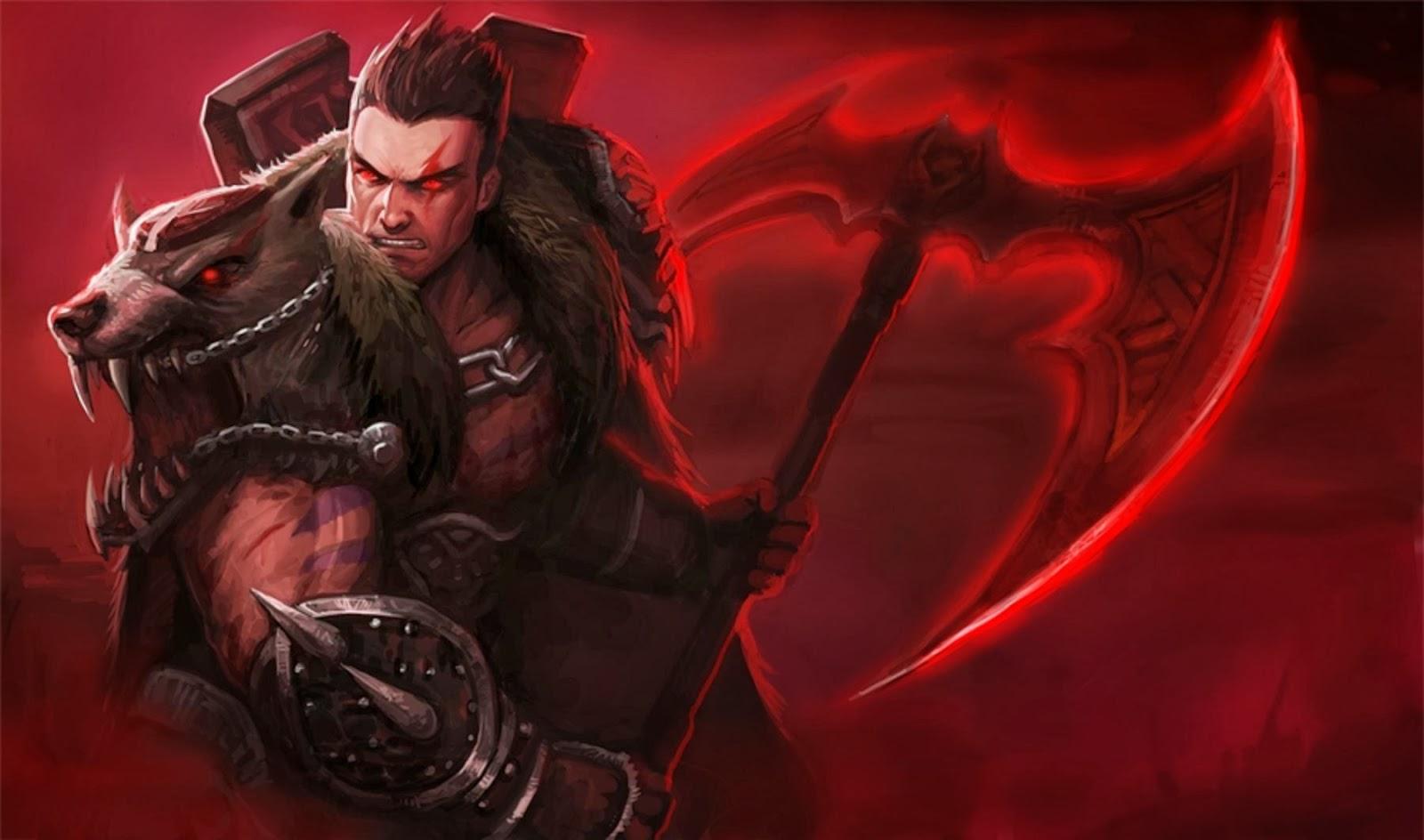 Darius League of Legends Wallpaper, Darius Desktop Wallpaper